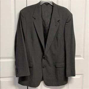 Nino Cerruti Athletic Fit Blazer Size 46 L Gray